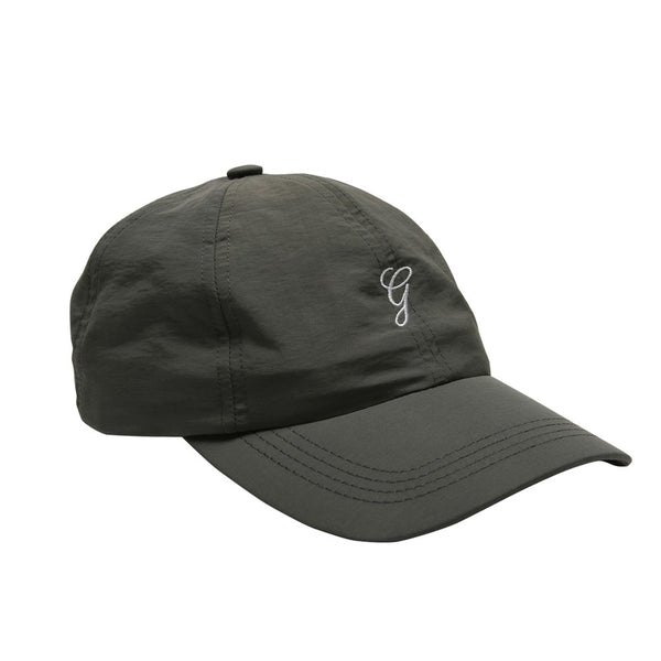 Grand Nylon G Script Hat Charcoal