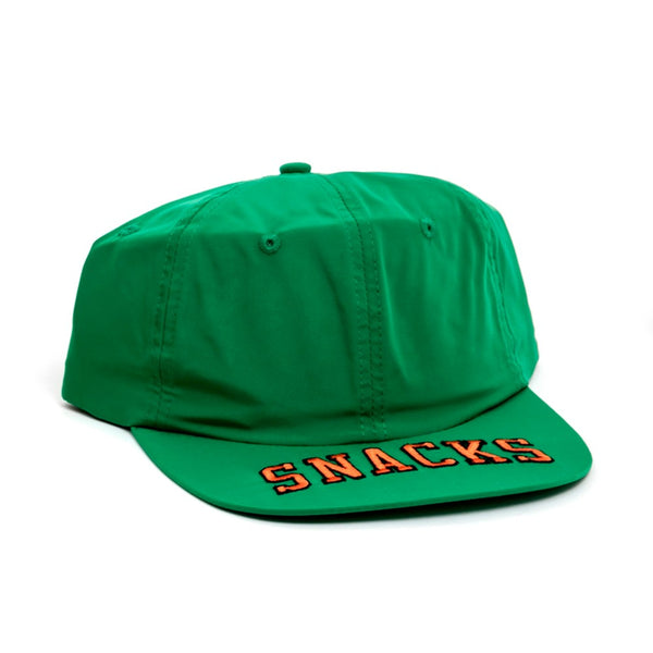 Quarter Snacks Cap Nylon Green