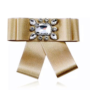 Little Miss Valentine Bow Tie (Gold)
