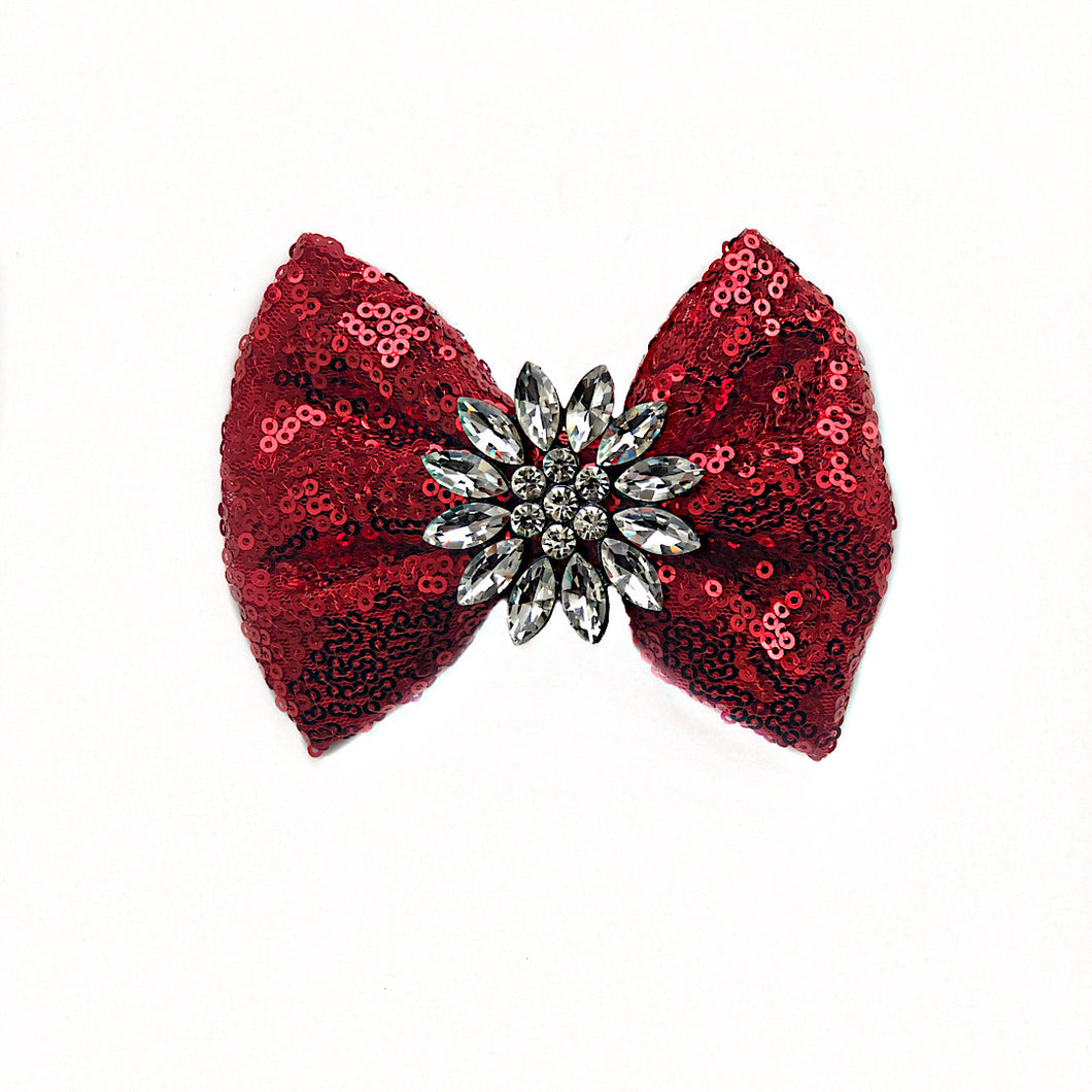 Cuter than Cupid Bow Tie (Red)