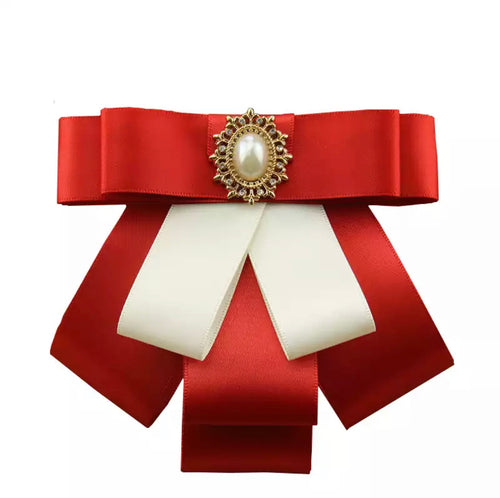 Posh Little Lady Santa Baby Bow Tie