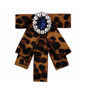Posh Little Lady Leopard Bow Tie (More Colors) PRE-ORDER