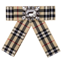 Load image into Gallery viewer, Posh Little Lady Plaid Bow Tie