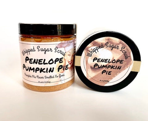 Penelope Pumpkin Pie Whipped Sugar Scrub
