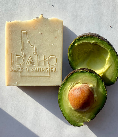 Avocado and Lime Bar Soap