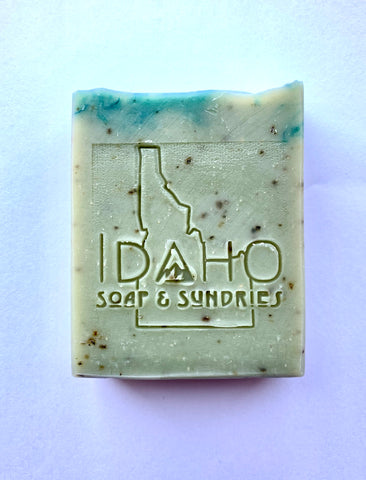 Rosemary and Mint Goat Milk Bar Soap