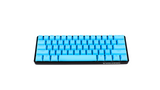 (PRE-ORDER ETA SHIP DATE AUGUST 31ST) Crystal Blue PBT Doubleshot Backlit Keycaps