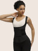 Graceful Black Latex Vest Shaper