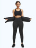2 in 1 Sweat Capris Pants with Waist Trainer