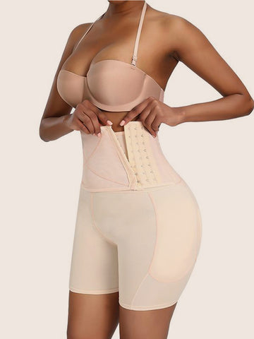 Women High Waist Boxer Pants Shapewear