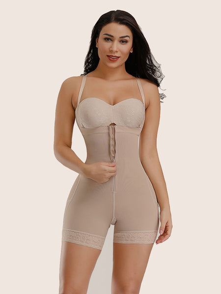 Shoulder Strap Detachable Slimming Bodysuit