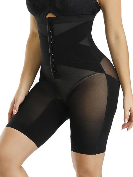 Women Tummy Control Plus Size Latex Shapewear