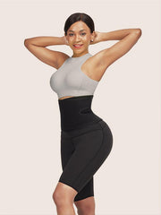 Neoprene Sweat Waist Slim Shaper Shorts