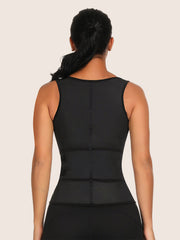 High Compression Latex Firm Control Body Shaper Vest