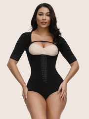 Detachable Shoulder Strap Chest Open Crotch Shaping Bodysuit
