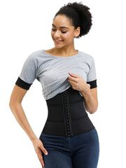 Adjustable Buckle Rubber Without Steel Waist Cincher