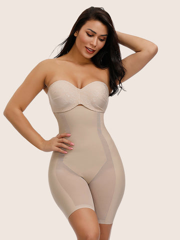 Seamless Abdomen Slimming Hip Enhancer Corset and Butt Lifter