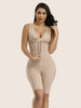 Front Zipper Slimming Tummy Bodysuit