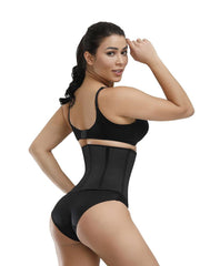 Short Rubber Girdle Lace Stitching Waist Trainers