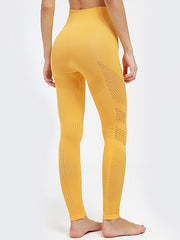 Ankle Length Knitted Seamless Yoga Legging