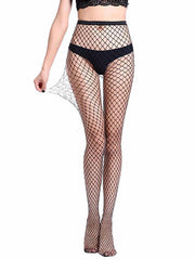 Women Sexy Transparent Slim Fishnet Pantyhose