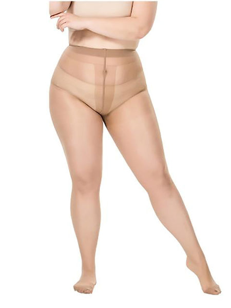 Large Size Tights Anti-hook Tear Resistant T Crotch Seamless Pantyhose