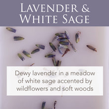 Load image into Gallery viewer, Lavender & White Sage 2.5 Oz Artisan Melts - Coming Soon