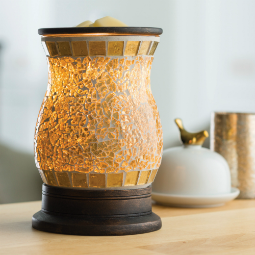 Gilded Glass Illumination Warmer