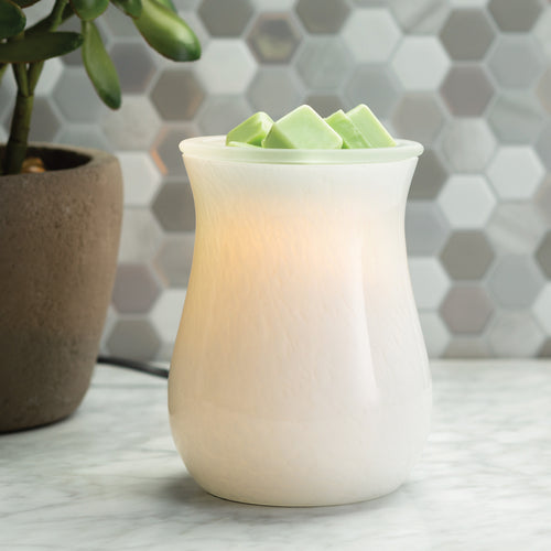 Moonstone Glass Illumination Warmer