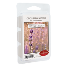 Load image into Gallery viewer, Lavender Rain Odor Eliminating Melts 2.5oz