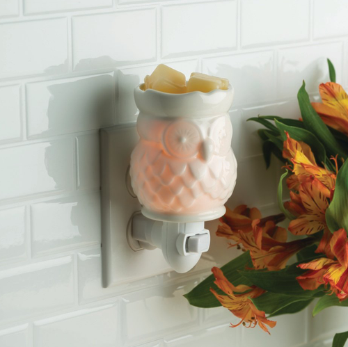 White Owl Pluggable Warmer - OUT OF STOCK