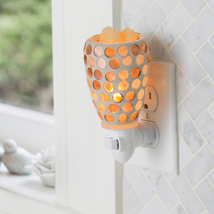 Pearl Glass Pluggable Warmer