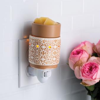 White Terracotta Pluggable Warmer - OUT OF STOCK