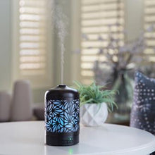 Load image into Gallery viewer, Bronze Palmette Ultrasonic Aroma Diffuser