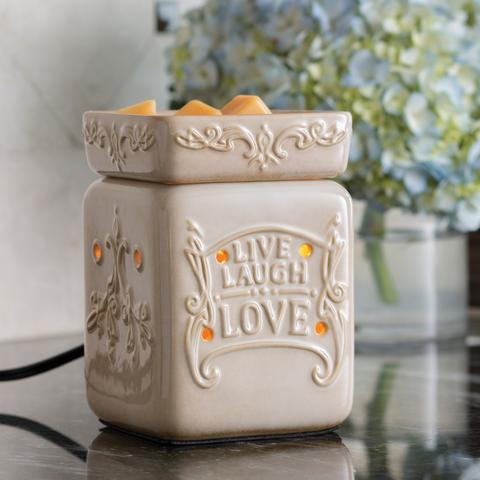 Square - Live Love Laugh Illumination Warmer