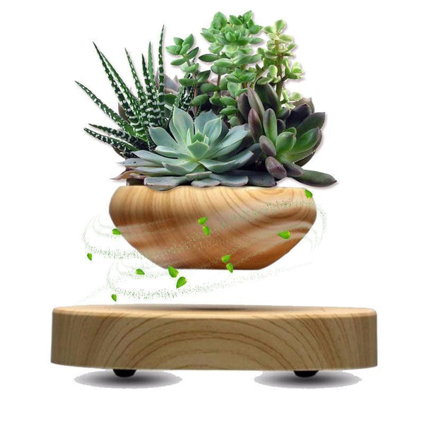 Magnetic Levitating Plant Pot