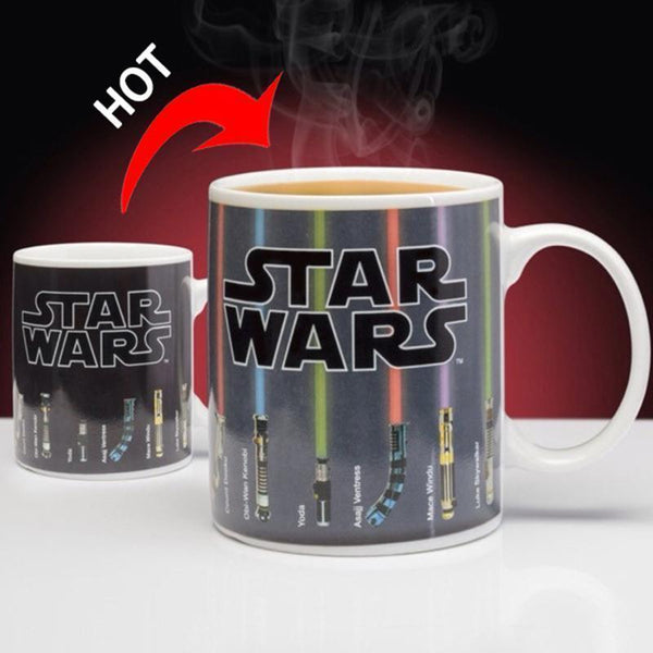 Star Wars Lightsaber Color Changing Coffee Mug