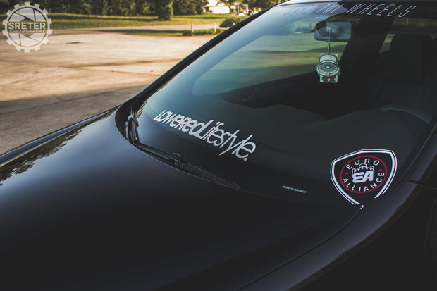 Lowered Lifestyle OG Windshield Banner - 30""