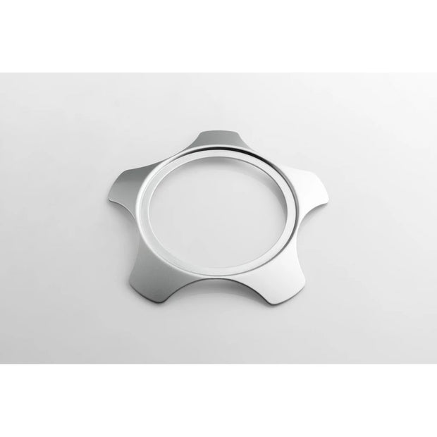 Rotiform LSR Lug Cover Plate - Gloss Silver