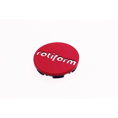 Rotiform Push-in Center Cap - Red & Chrome