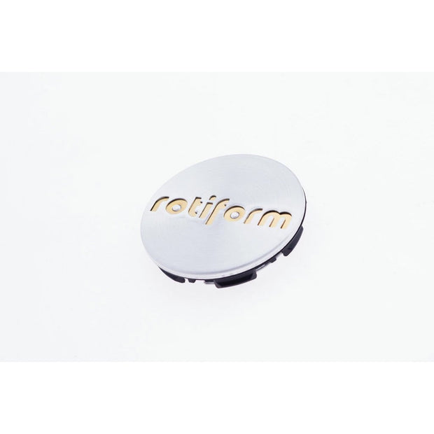 Rotiform Push-in Center Cap - Machined Silver & Gold