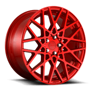 "Rotiform BLQ Cast Wheel 19"" - Candy Red - Lowered Lifestyle"