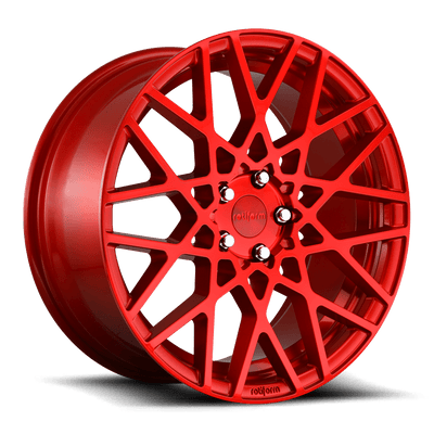 "Rotiform BLQ Cast Wheel 19"" - Candy Red"