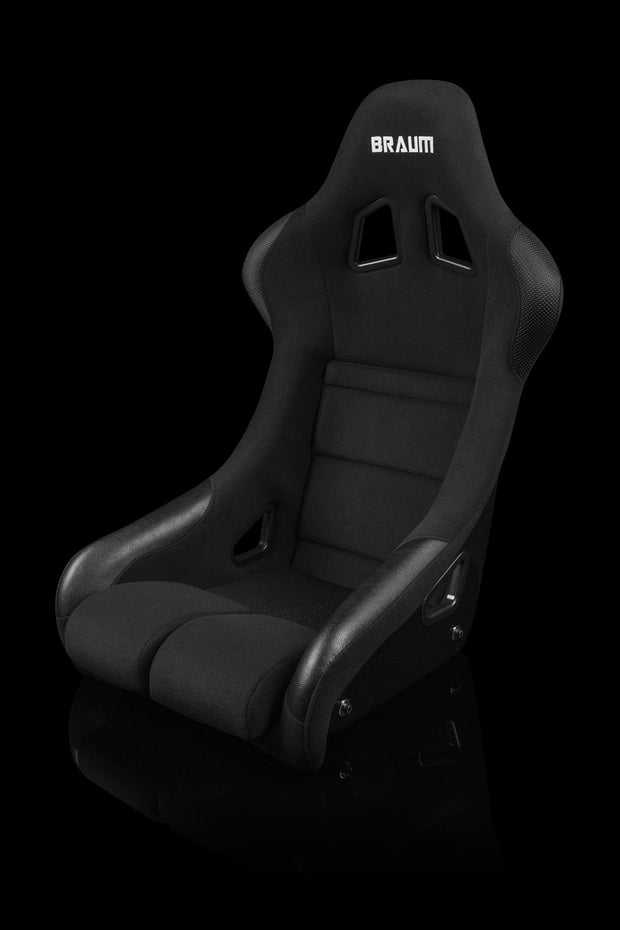 Braum FIA Approved Falcon Series Fixed Back Racing Seat - Black Cloth