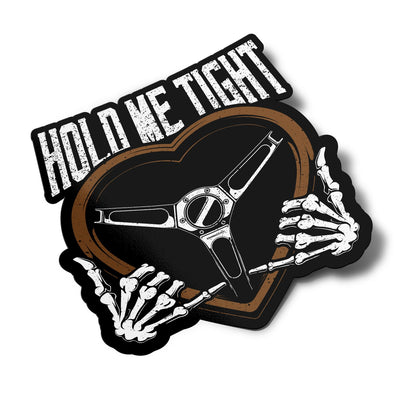Sticker – Hold Me Tight - Lowered Lifestyle