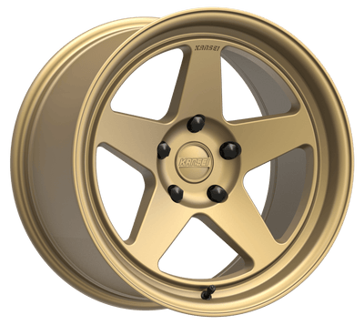"Kansei KNP Wheel 18"" - Textured Bronze - Lowered Lifestyle"