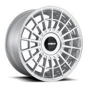 "Rotiform LAS-R Cast Wheel 19"" - Silver - Lowered Lifestyle"