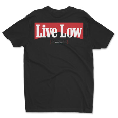 Live Low Shred Warning Shirt