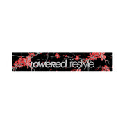 Motorsport Banner - Cherry Blossom - Black