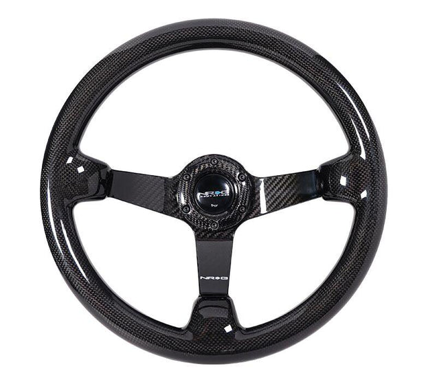 NRG Steering Wheel - Carbon Fiber 350mm deep dish